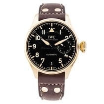 IWC Big Pilot Bronse 46.2mm Svart