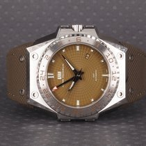 Linde Werdelin Steel 44mm Automatic 3 Timer new