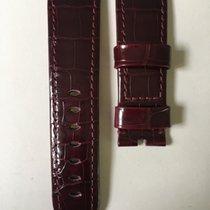 Panerai 24/22mm Brillant Bordeaux Alligator Strap 115/75cm