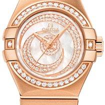 Omega Constellation Ladies new 27mm Rose gold