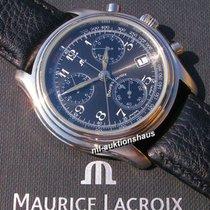 Maurice Lacroix Les Classiques Chronographe Stahl 38mm Schwarz Arabisch Deutschland, Meißen