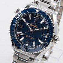 Omega Seamaster Planet Ocean Stahl 39.5mm Blau Arabisch Deutschland, Weißenhorn
