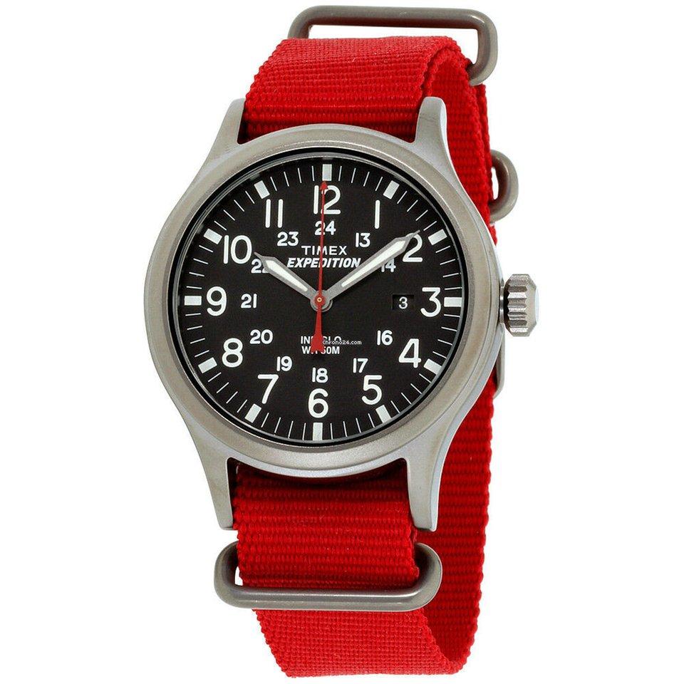 64e3c72a220d Timex Expedition Scout Black Dial Nylon Strap Unisex Watch... en venta por  37 € por parte de un Seller de Chrono24