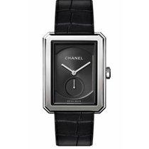 Chanel Boy-Friend Steel Black No numerals
