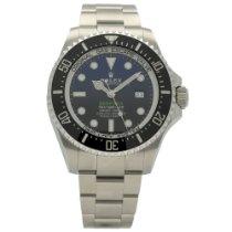 Rolex Sea-Dweller Deepsea Stål 44mm Sort Ingen tal