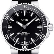 Oris Steel Automatic Black 43.5mm new Aquis Date