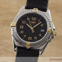 Breitling Wings Lady Gold/Stahl 30.5mm Schwarz