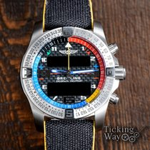 Breitling Exospace B55 Connected EB5512221B1E1 Very good Titanium 46mm Quartz