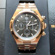 Vacheron Constantin Rose gold Automatic Brown 42mm pre-owned Overseas Chronograph