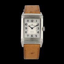 Jaeger-LeCoultre Reverso Classic Medium Duetto pre-owned 40mm Leather