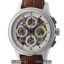 Perrelet Skeleton Chrono Steel 42mm United States of America, New York, New York