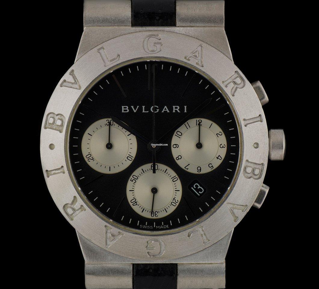 6ef30582463 Bulgari Diagono - Todos os preços de relógios Bulgari Diagono na Chrono24