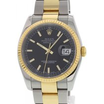Rolex Oyster Perpetual Datejust 18K YG/SS 116233
