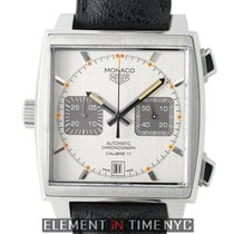 TAG Heuer Monaco Calibre 11 Steel 39mm Silver United States of America, New York, New York