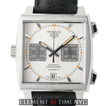 TAG Heuer Monaco Chronograph Calibre 11 Stainless Steel 39mm...