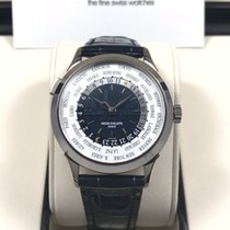 百达翡丽  (Patek Philippe) 18K White Gold World Time New York ...