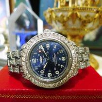 Breitling Colt Quartz Chronometer Diamonds Stainless Steel...
