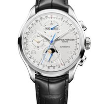 Baume & Mercier Clifton Stainless Steel Automatic Chronograph...