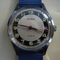 Doxa Acier 34mmmm Remontage manuel 3510 occasion France, paris
