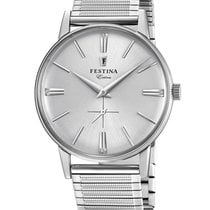 Festina Steel 36mm Quartz F20250/1 new