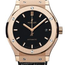 Hublot Classic Fusion 45, 42, 38, 33 mm 511.OX.1181.LR Ny Rosa guld 45mm Automatisk