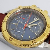 Lorenz Rare Nos Double Chrono Lorenz 13750  Dial Blue Bezel G.F. καινούριο