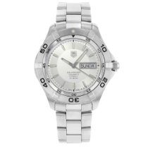 TAG Heuer Aquaracer 300M Steel 41mm Silver No numerals United States of America, New York, NYC