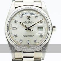 Rolex Day-Date 36 begagnad 36mm Vitguld