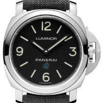Panerai Luminor Base Logo Stål 44mm Svart