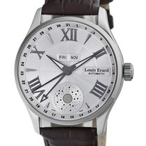 Louis Erard 40mm Automatic new 1931 Silver