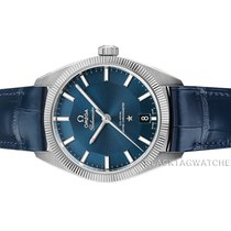 Omega Globemaster Steel 39mm Blue No numerals United States of America, Florida, Aventura