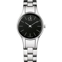 ck Calvin Klein Steel 28mm Quartz K4323130 new