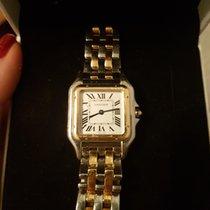 Cartier Panthère Gold/Steel 22mm White Roman numerals United Kingdom, W12