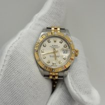 Rolex Lady-Datejust Gold/Steel 26mm Silver No numerals Malaysia, Subang Jaya