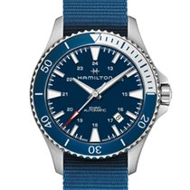 Hamilton Khaki Navy Scuba Steel 40mm Blue United States of America, New Jersey, Cherry Hill