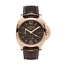 Panerai Luminor 1950 8 Days GMT Rose gold 44mm Brown United States of America, Florida, Miami
