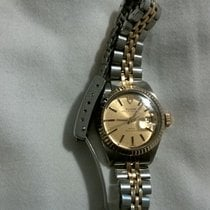 Tudor Prince Oysterdate Gold/Steel 26mm Gold No numerals