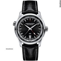 Hamilton Jazzmaster GMT Auto new Automatic Watch with original box and original papers H32695731