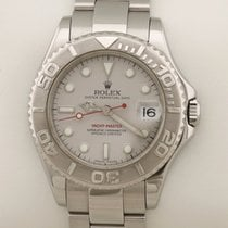Rolex Yacht-Master pre-owned 35mm Grey Date Steel