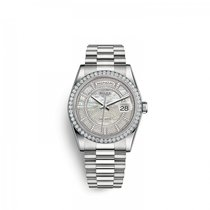 Rolex Platinum Automatic Mother of pearl 36mm new Day-Date 36
