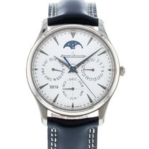 Jaeger-LeCoultre Master Ultra Thin Perpetual White gold 39mm Silver United States of America, Georgia, Atlanta