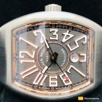 Franck Muller Vanguard Titanium 44mm Grey Arabic numerals