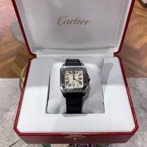 Cartier Santos 100 Steel Silver Roman numerals Australia, sydney