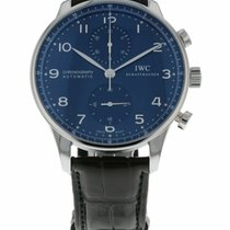 IWC Portuguese Chronograph Steel 40.9mm Blue United States of America, Florida, Sarasota