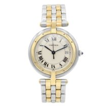 Cartier Cougar Gold/Steel 30mm White Roman numerals United States of America, New York, New York