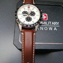 Swiss Military Stahl 42mm Quarz 06-4314.04.001 neu