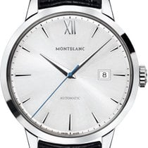 Montblanc Heritage Spirit Steel 39mm Silver Roman numerals United States of America, California, Moorpark