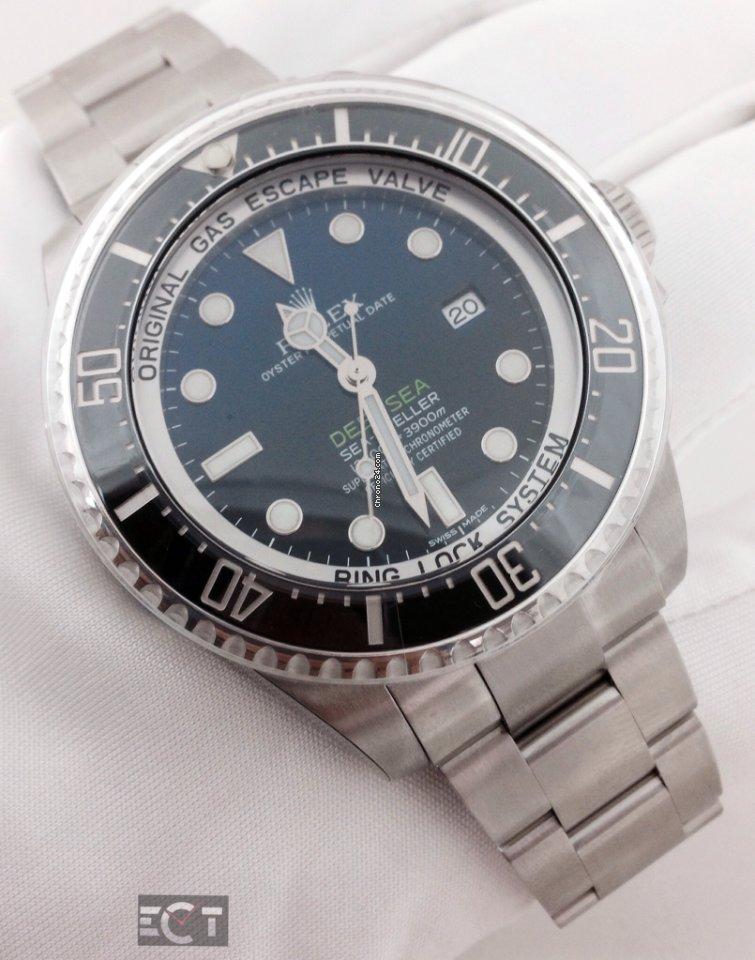 b06f1b95bee Rolex Deep Sea Sea Dweller James Cameron Deep Blue Dial for  14