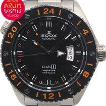 Edox Titanyum Otomatik Siyah 45mm ikinci el Class-1