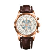 Breitling RB0510U0/A733 Red gold Transocean Chronograph Unitime 46mm new